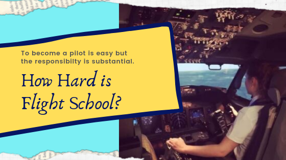 how hard is flight school