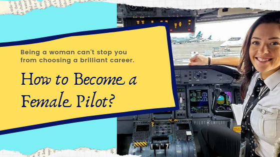 how to become a female pilot