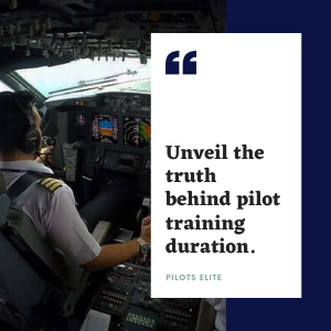 How many years to become a pilot? Duration of pilot course explained.