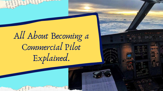 how to become a commercial pilot for an airline