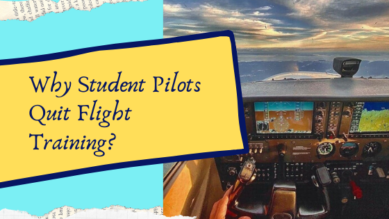 why student pilots quit