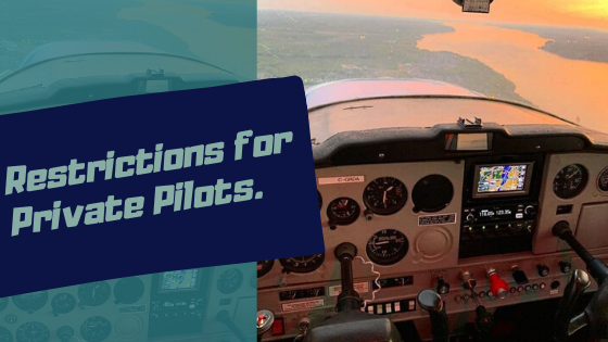 private pilot license restrictions