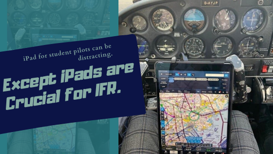 do student pilots need an ipad