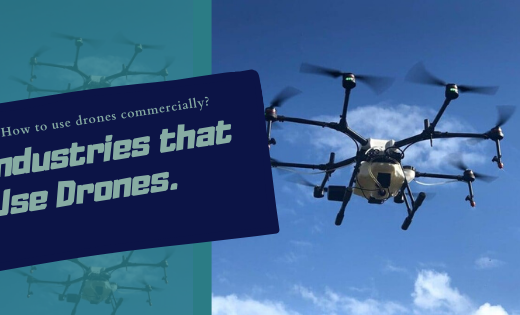 commercial usage of drones